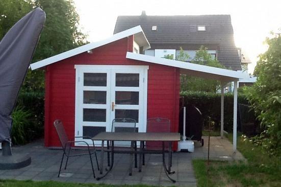 Gartenhaus Aktiva mit Schleppdach in 2020 Schleppdach
