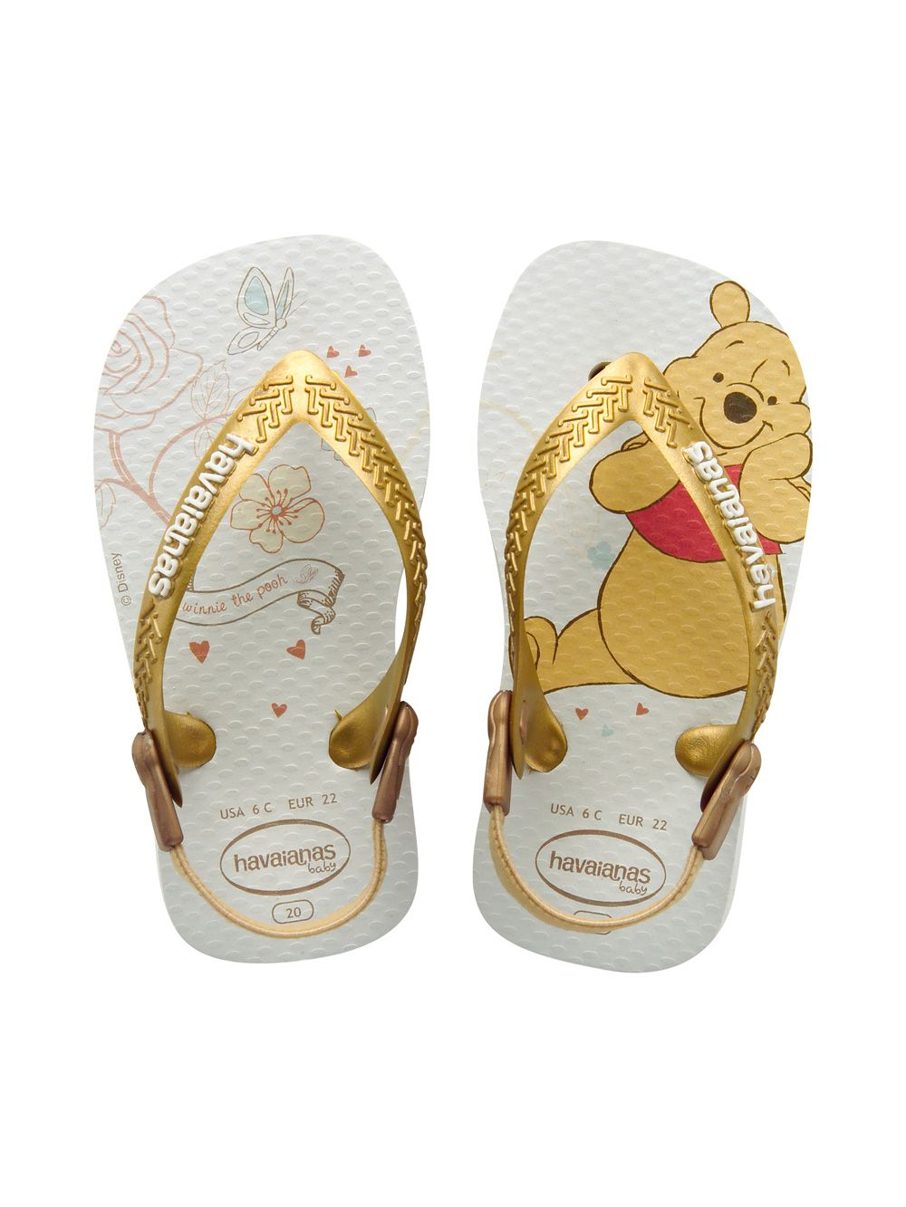 62a57447b Havaianas Baby Winnie The Pooh