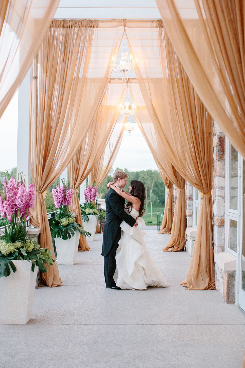 Elegant Philadelphia Country Club Wedding