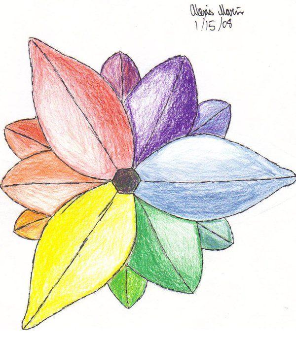 Flower Color Wheel By Missirius On