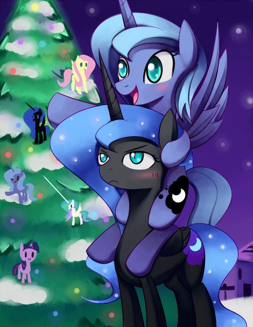 Look At Celestia My Little Pony Cartoon Nightmare Moon Pony