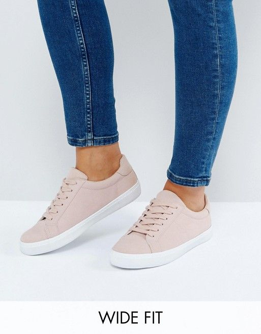 huge discount 363d8 90338 ASOS DEVLIN Wide Fit Lace Up Sneakers Balschoenen, Nike, Veterschoenen,  Schoeisel, Truien