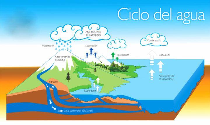 Ciclo Del Agua Ciclo Del Agua Maqueta Ciclo Del Agua Ciclo Hidrologico