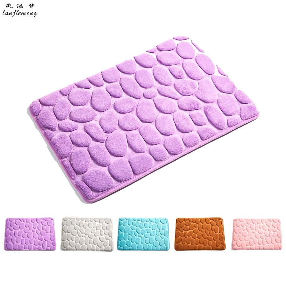 3D 40*60cm Foam Memory Mats Rugs For Floor Bath Kitchen