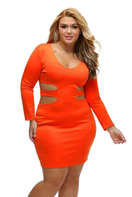 50e211ea8b47b Sexy Plus Size Mini Dresses Clubwear Club Wear Glamour Fashion ...