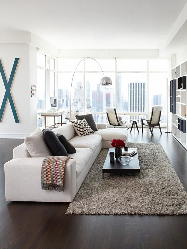 Contemporary Condo Living Living Room Decor Modern Modern