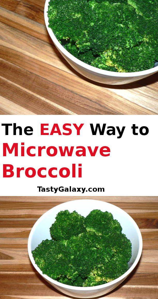 How To Microwave Broccoli   Recipe   Recipes, Broccoli ...