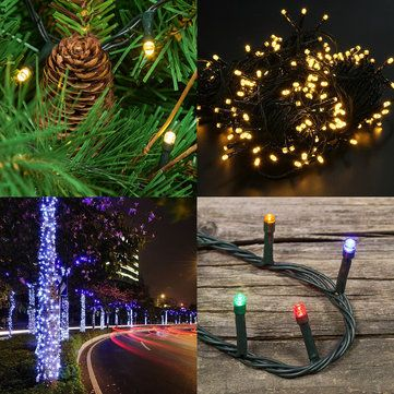 KCASA SSL-13 LED 7M 50LED Solar Panel String Light Holiday Garden - solar christmas decorations