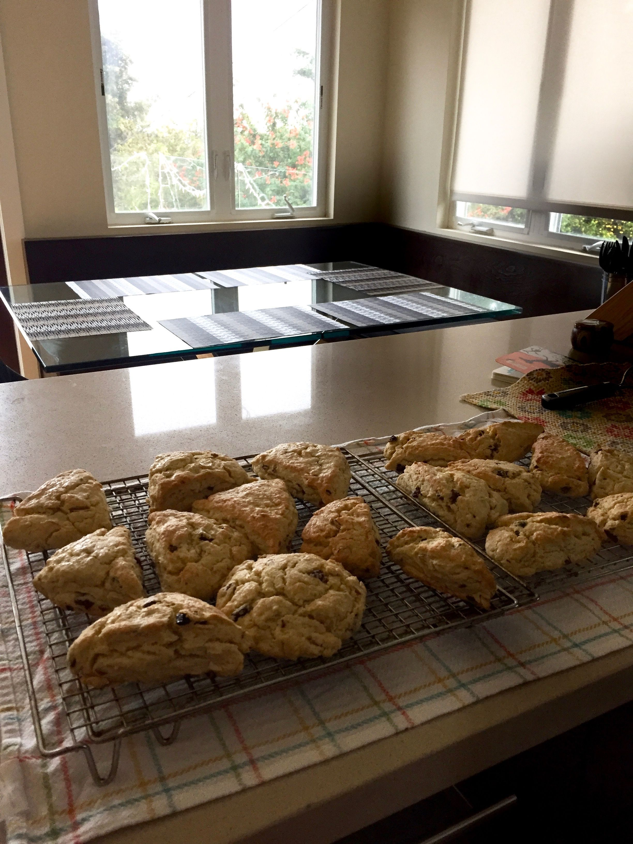 Cherryalmond scones in la from my queens kitchen pinterest