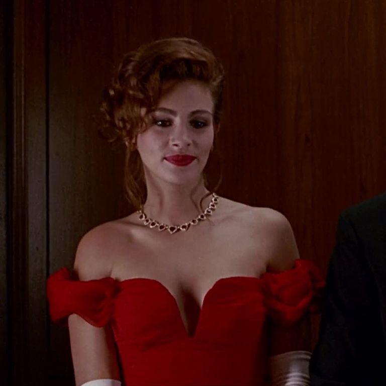 6c233ee979d julia roberts pretty woman black cocktail dress - Recherche Google ...