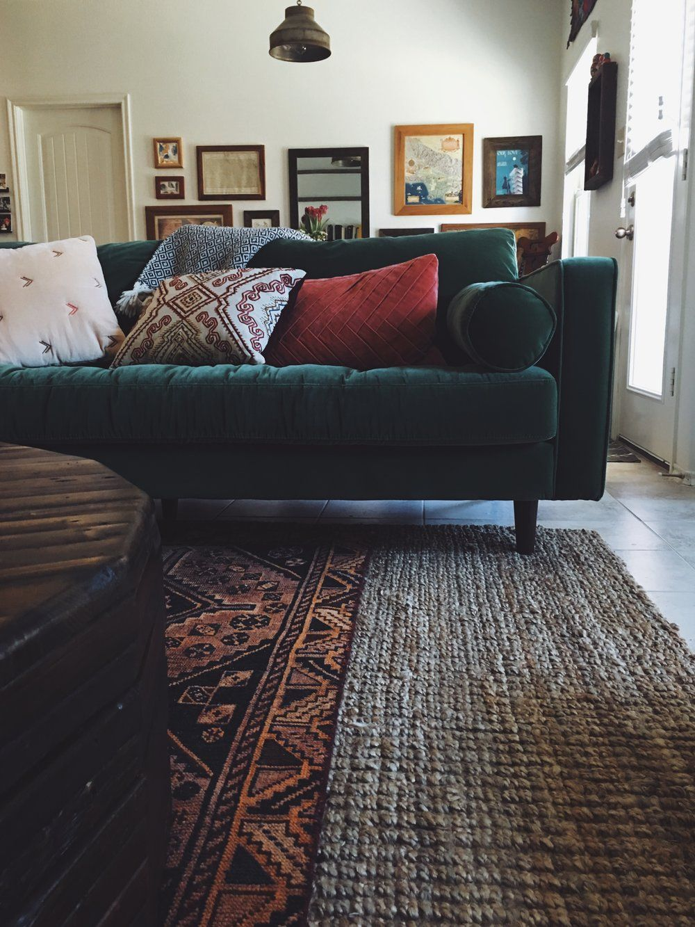 You Asked About Our Green Couch A Review On Article Furniture Hurd Honey