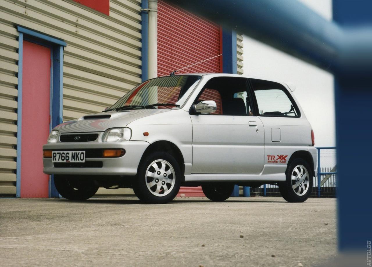 1997 Daihatsu Cuore Daihatsu Kei Car Car Model