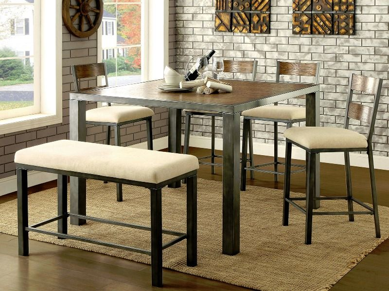 Jazlyn Counter Height Dining Set   Just Like Home Affordable Furniture