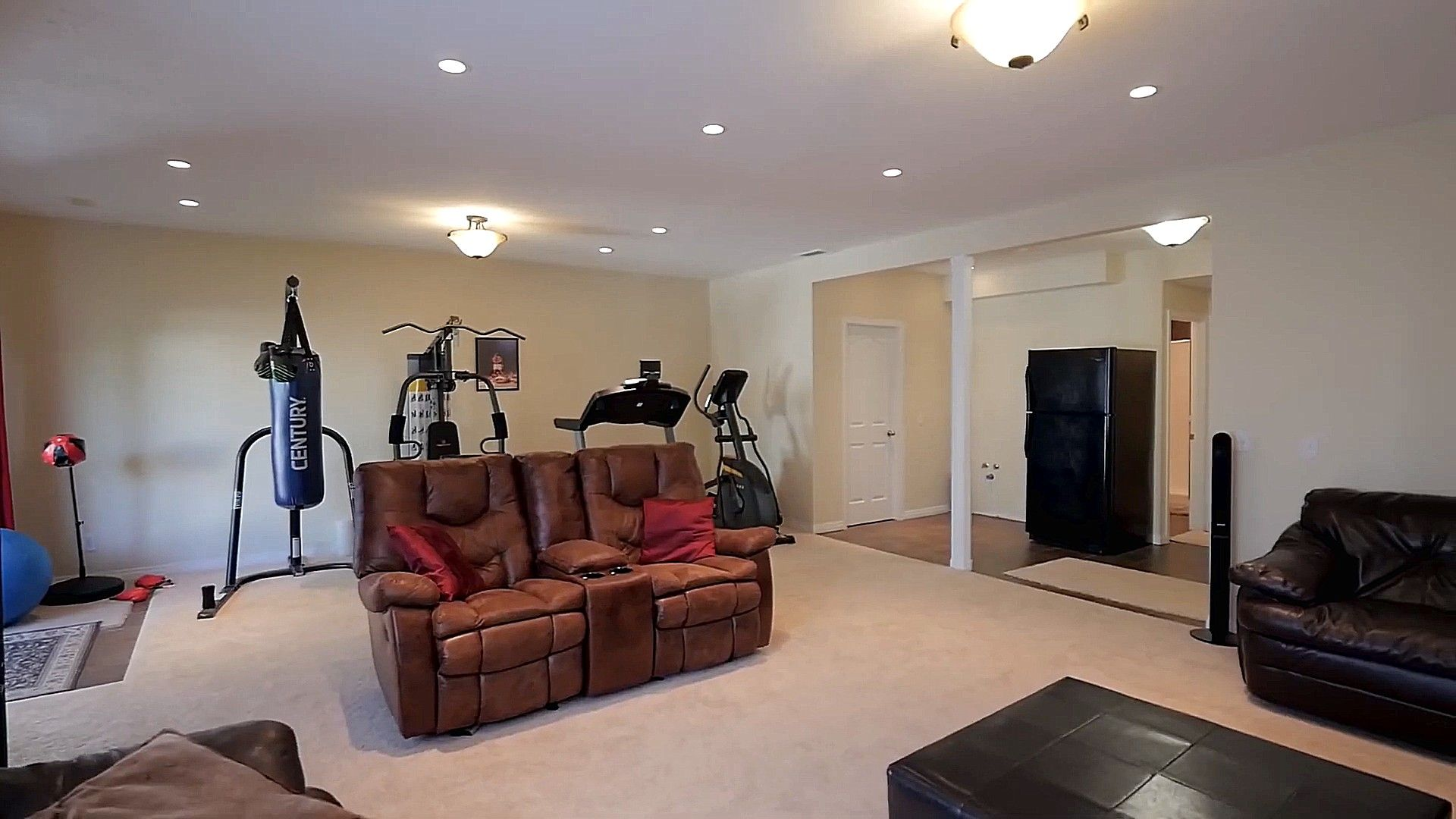 Fitness Tools In Living Room