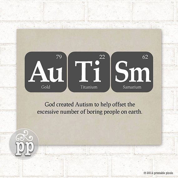 periodic table autism teacher art science nerd by printablepixels 500 - Periodic Table Autistic