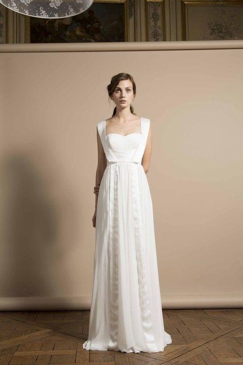 vestidos de novia sencillos pero elegantes para novias modernas