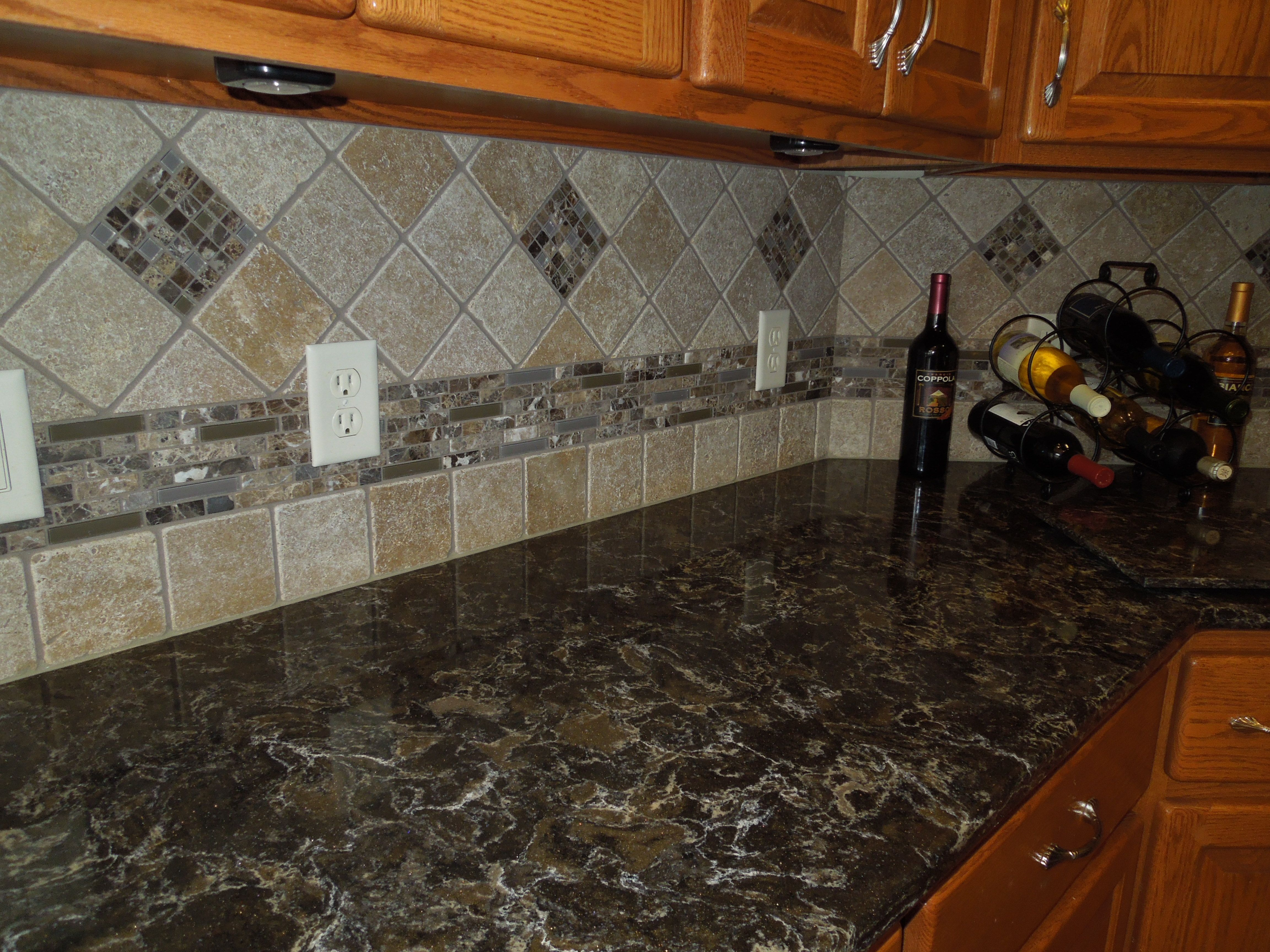We couldn t be more pleased with our countertop and tile
