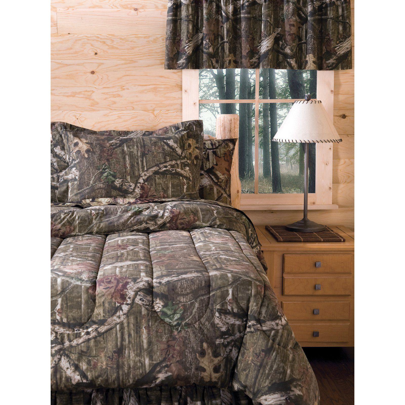 Mossy Oak Mini Bedding Set Size Queen In 2020 Comforter Sets Log Cabin Furniture Bedding Sets