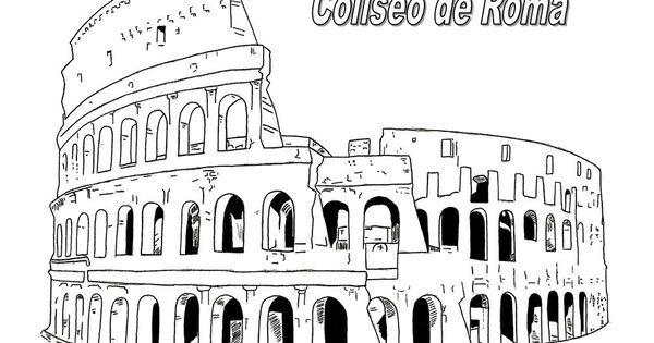 Resultado De Imagen De Cuadrigas Romanas Para Colorear Roma Para