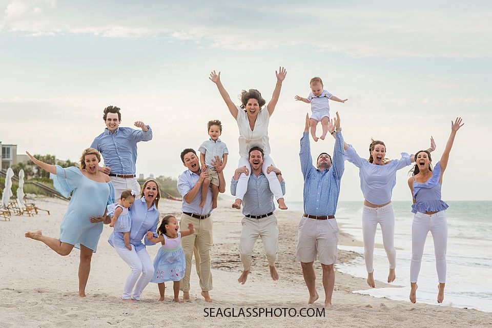 """This right here is what we love about photographing families who come from all over the world to be together. This time is short and it doesn't happen often to have everyone together. In addition to the traditional formal picture, we give families the freedom to """"just be"""" . To be joyful, carefree and to …"""