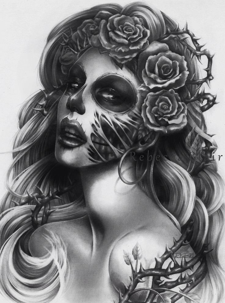 Pin By Falukita On Tattoo Dibujo Blanco Y Negro Pinterest Muerte