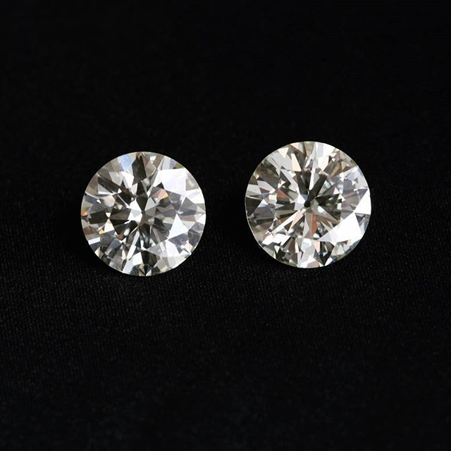 This matched pair of stunning 1950's diamonds are nearly 20cts total weight. Can you imagine the amazing earrings they would make? #joganibh  Shot by @jilliansorkinphotography  #earrings #jewelry #engagementring #love #bigdiamonds #bigdogs #vintage #loosestone #whitediamond #instajewelry #rarediamonds #largediamonds #diamonds #matchedpair #lovediamonds #instadiamonds