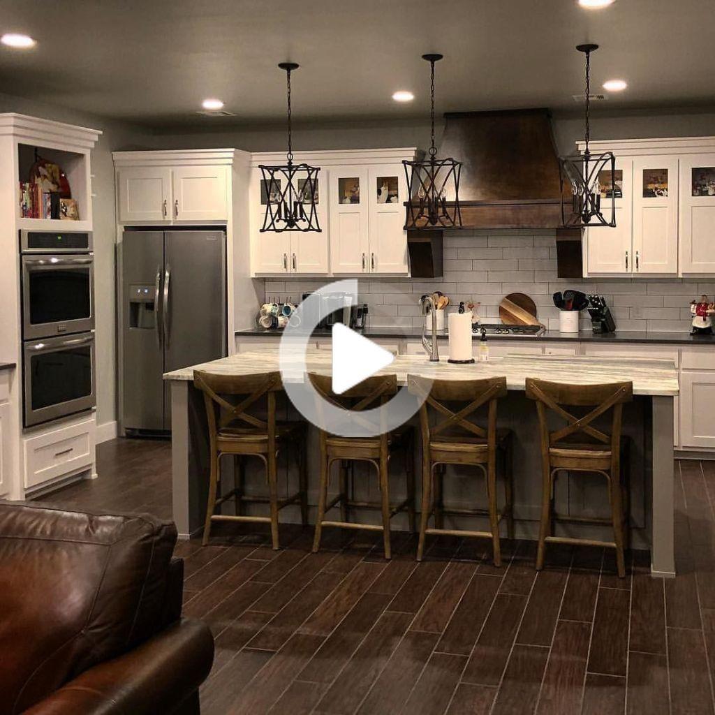 54 Casual Diy Farmhouse Kitchen Decor Idee Per Applicare Asap In 2020 Farmhouse Kitchen Decor Farmhouse Kitchen Design Country Kitchen Farmhouse