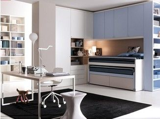Habitación para jóvenes con armario puente 202 | Habitación - Doimo ...