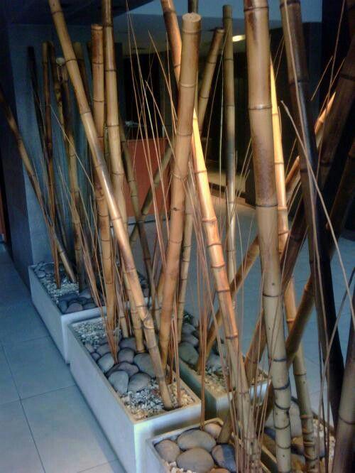 Decoracion Con Cañas Decoración De Jardín Diy Cañas De Bambu Decoracion Decoraciones De Jardín