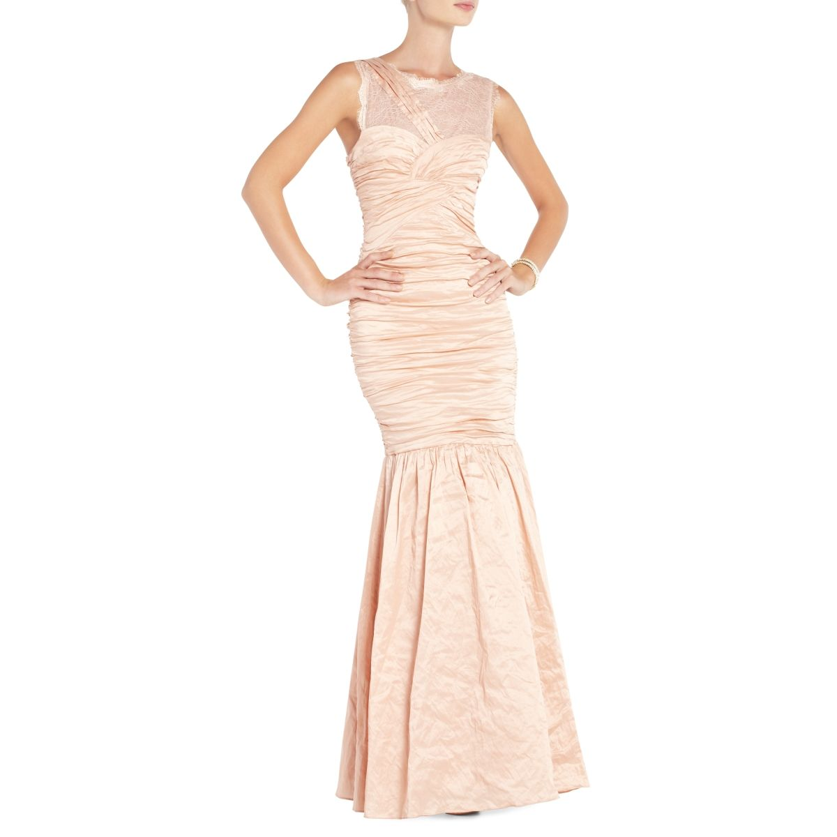 option?BCBGMAXAZRIA - DRESSES: VIEW ALL: GEO ASYMMETRICAL DRAPED ...