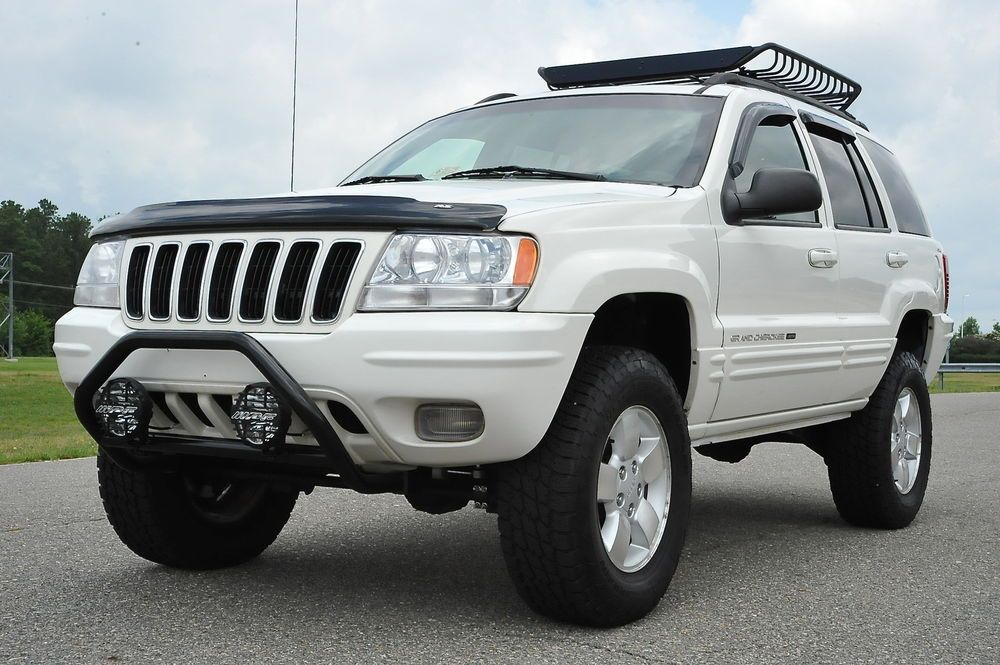 i like the white! Jeep suv, Jeep wj, Lifted jeep