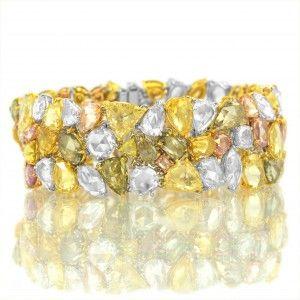 Leibish bracelet 2 Luxury Holiday Gift Guide 2014