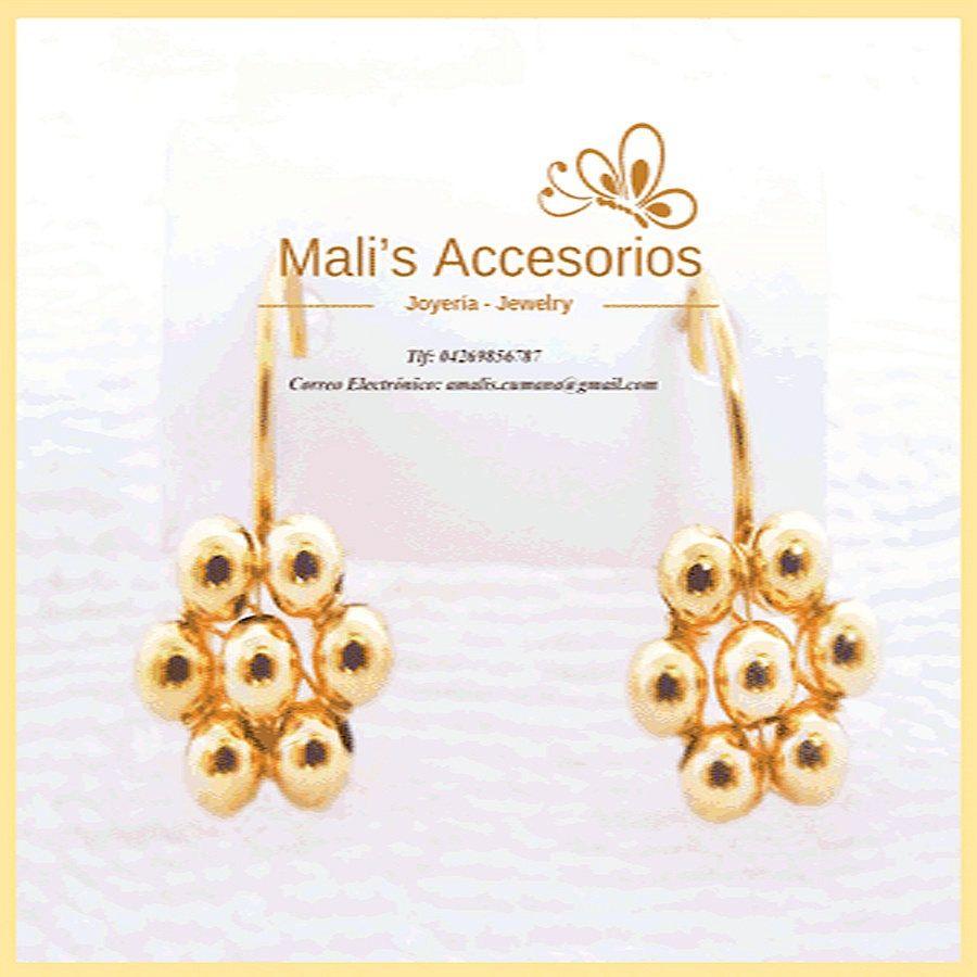 Earrings For Girls Gold Filled 14 Kts 120 Earrings Flowers