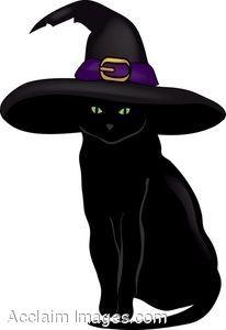 Hello Kitty Cat Clipart Black Cat Art Black Cat Halloween