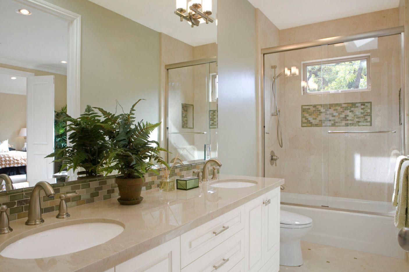 Badezimmer eitelkeit shaker stil kleines badezimmer  raumoptimierungsideen  badezimmer