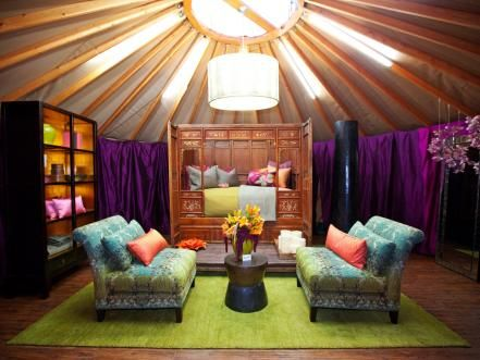 This week's <em>Design Star</em> challenge: The final three contestants must turn round yurts into fantasy bedrooms — and survive one last cut.