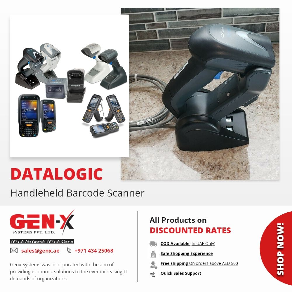 Keep Track Of Your Inventory In Real Time With Datalogic Barcode Scanners And Mobile Computers Genx System Brings A Barcode Scanners Barcode Scanner Handheld