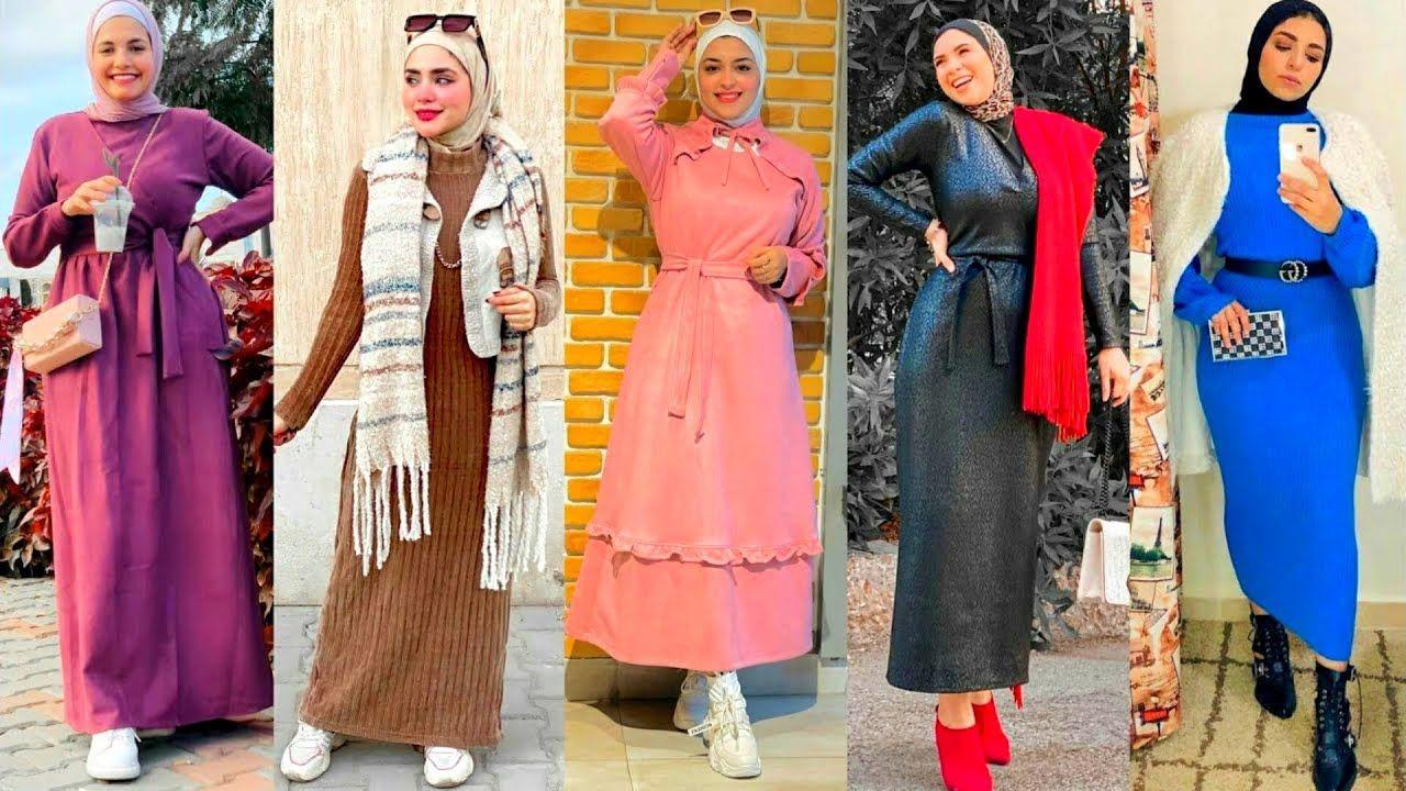 Pin By يوميات بنات On Hijab Dress فساتين بنات محجبات 2021 Dresses Fashion Shirt Dress