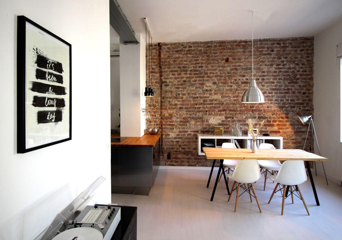 Architektur, Esszimmer, Esstisch, offene Küche