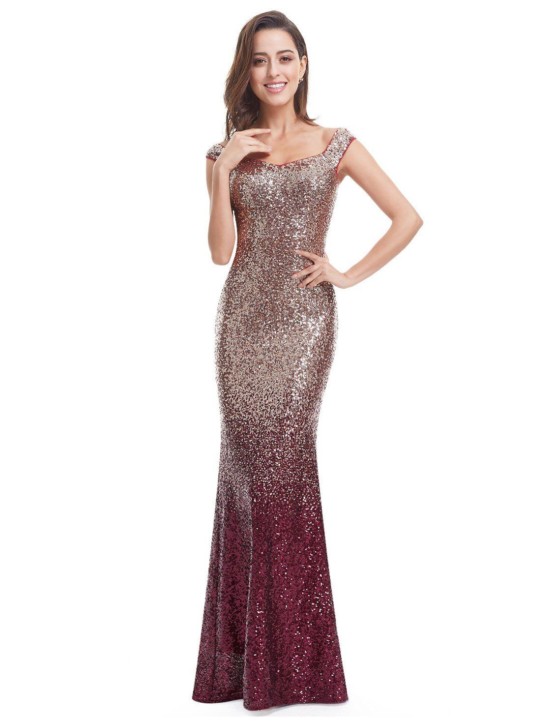 2a4bcacf00 Shimmer and shine at all your special events in these gorgeous sequin  dresses. From fun and flirty cocktail dresses to stunning floor length  evening ...