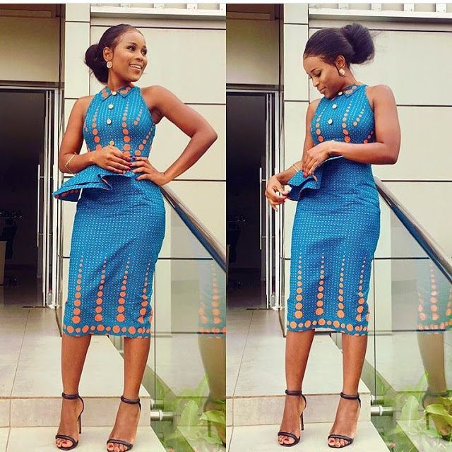 2018 Ankara Short Gowns : 50+ Latest Gown Styles for Classy Ladies ...