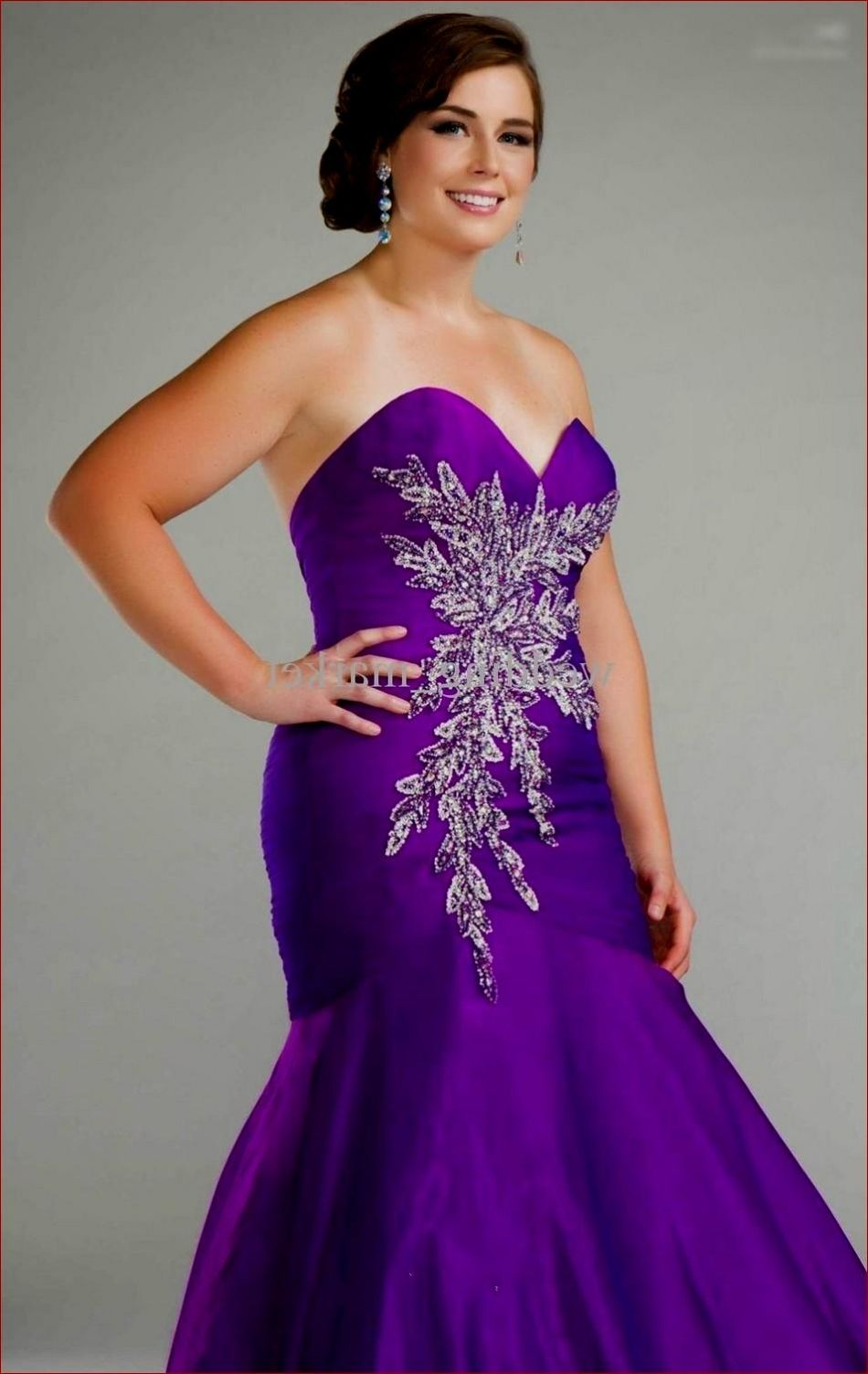 Awesome Purple Plus Size Wedding Dresses Check more at http://svesty ...