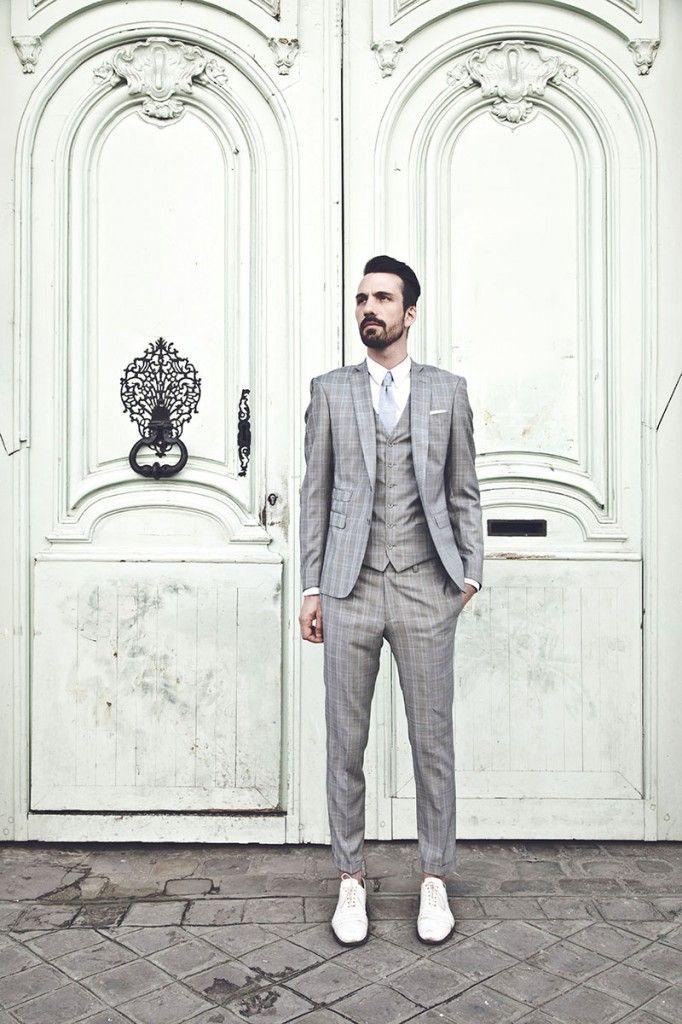Costume mariage homme carreaux anglais l Apiéceur l La Fiancée du Panda  blog mariage et lifestyle ba360567106