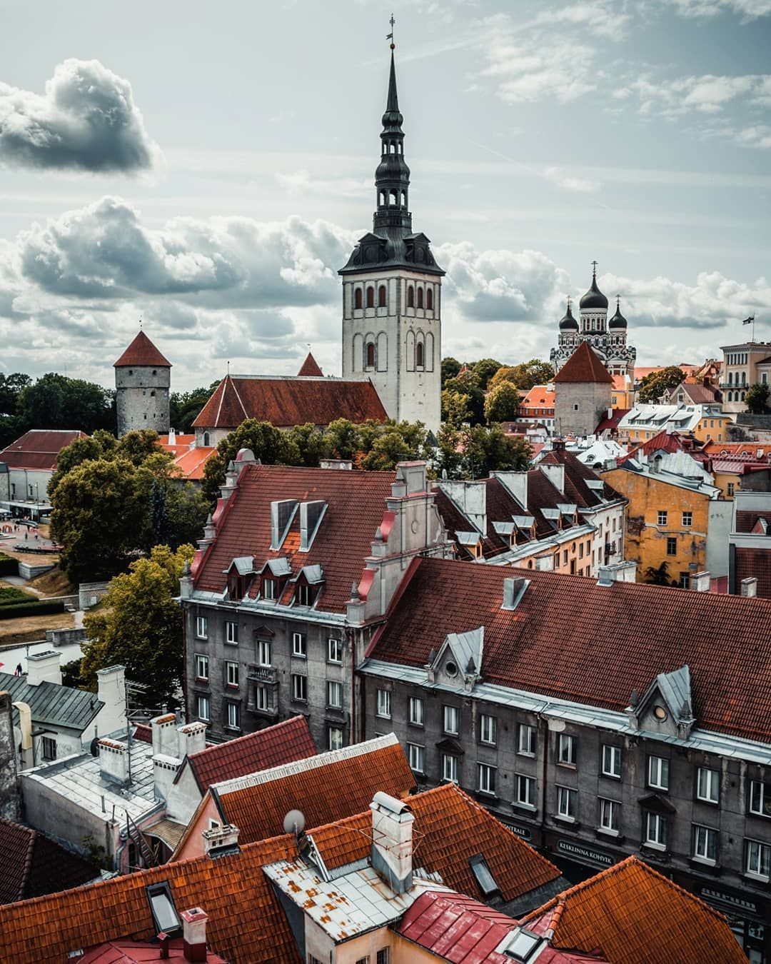 Tallinn A Perfect City For My Taste Not Too Big Not Too Small And With A Wonderful Old Town August 2019 Tallinn Estonia Travel City Aesthetic