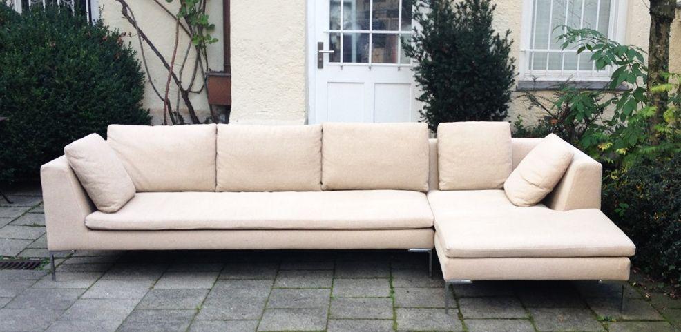 b b italia charles sofa schlicht designm bel 600 harrison rh pinterest com charles sofa b & b italia price b&b italia charles sofa for sale