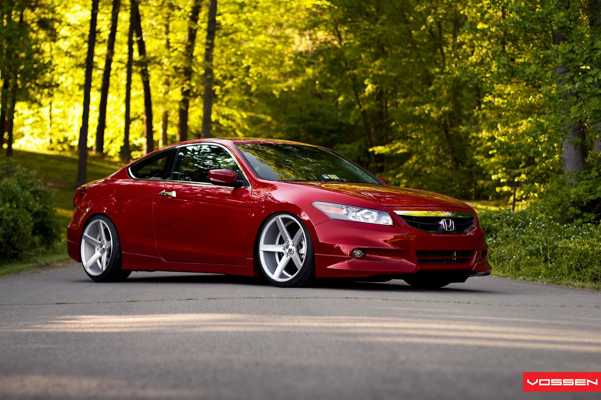 Honda After Modification and/or Restoration By Vossen