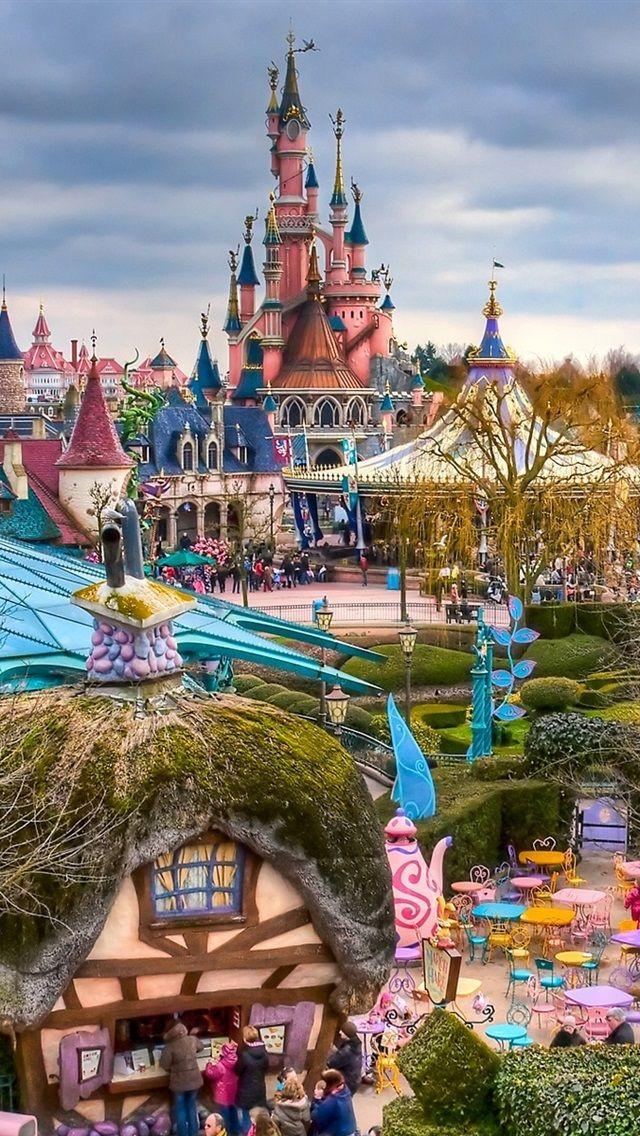 ファンタジーディズニーランドパリフランス 640x1136 Iphone 55s Disneyland Disneyland Paris Castle Disney Hotels