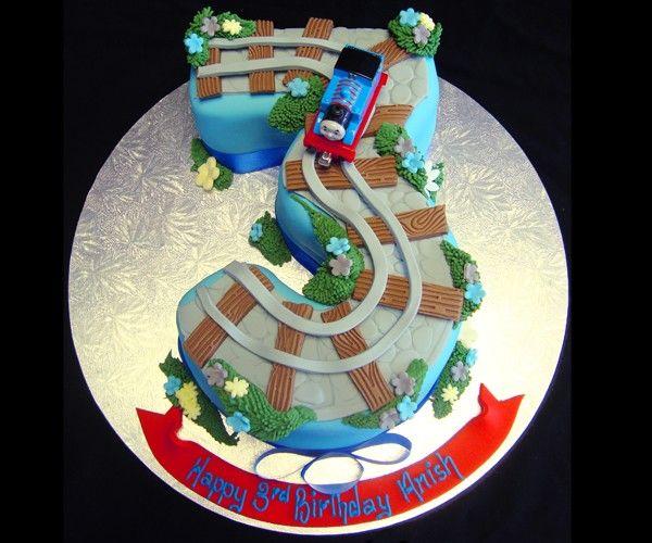 Thomas The Tank Birthday Cake  Gdesa Birthday Party Ideas Yum - Thomas birthday cake images