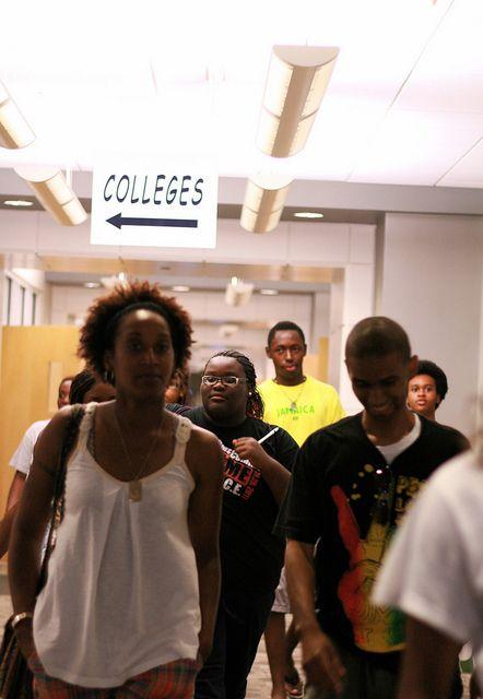 walking the halls of Georgia Southern Univ