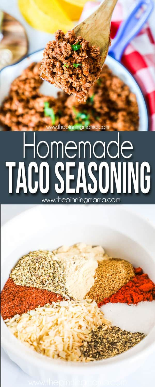 Whole30 Taco Seasoning • The Pinning Mama